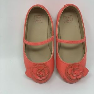 Janie and jack toddler girl shoes size 7 US